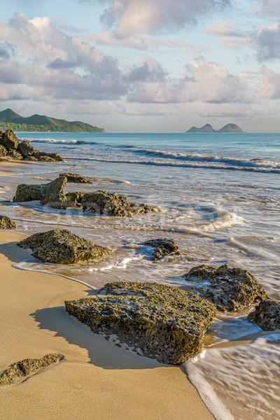 Bellows Beach Stock photo © LAMeeks