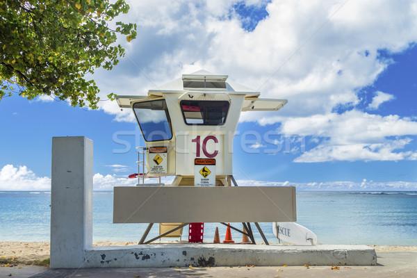 Lifeguard Stand Stock photo © LAMeeks