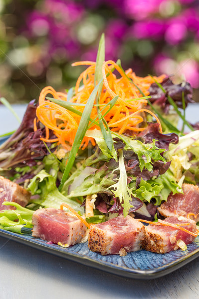 Seared Ahi Salad Stock photo © LAMeeks