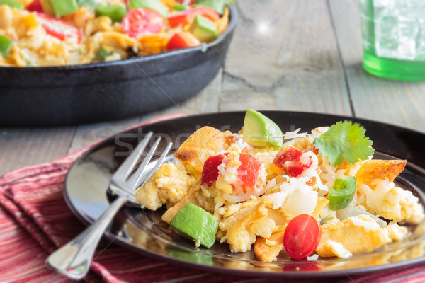 Tex-Mex Migas Stock photo © LAMeeks