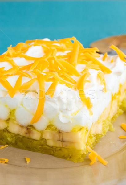 Hawaiian Jello Salad Stock photo © LAMeeks