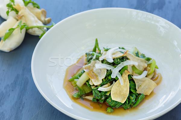 Watercress Bok Choy Salad Stock photo © LAMeeks