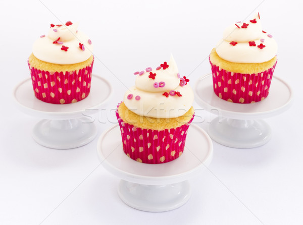 XOXO Cupcakes Stock photo © LAMeeks