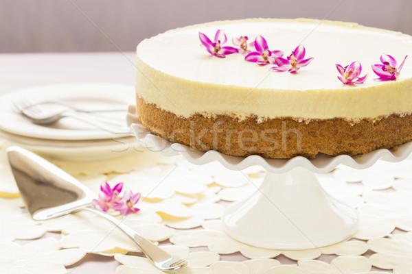 Lilikoi Chiffon Pie Stock photo © LAMeeks