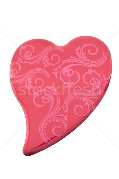 Red Heart Tin Stock photo © LAMeeks