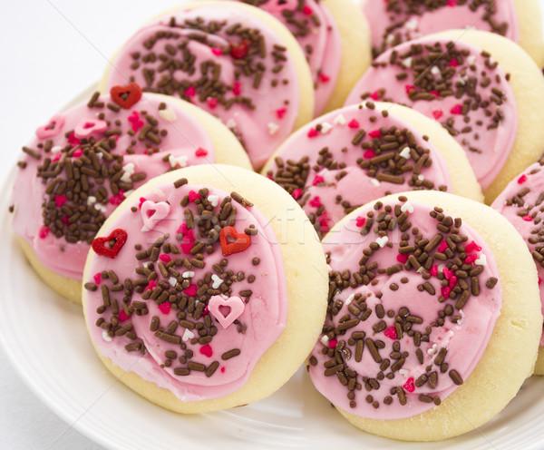 Pink Sprinkles Cookies Stock photo © LAMeeks