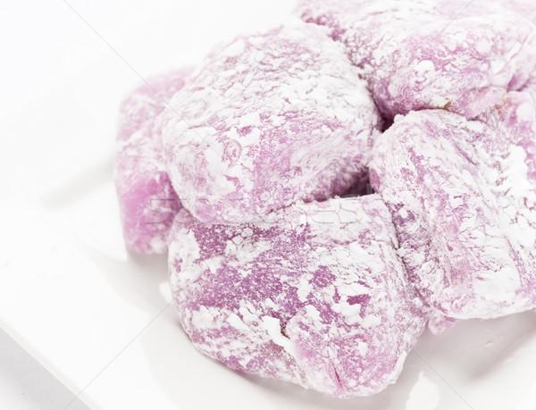 Beurre d'arachide alimentaire dessert riz sweet sucre Photo stock © LAMeeks