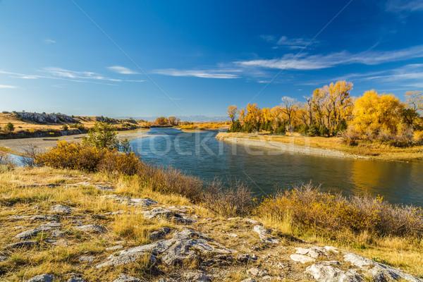 Missouri parc rivière trois ciel Photo stock © LAMeeks