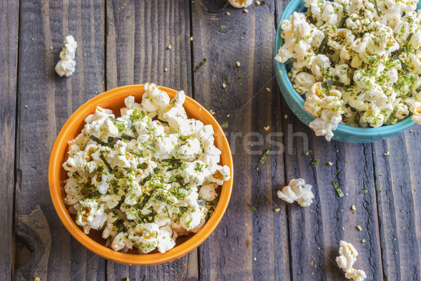 Furikake Popcorn Stock photo © LAMeeks
