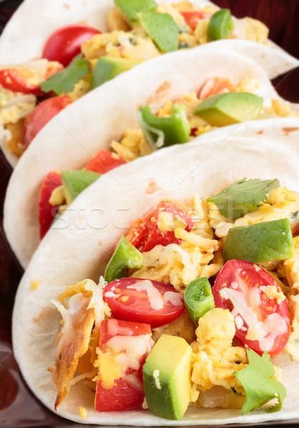 Migas Tacos Stock photo © LAMeeks