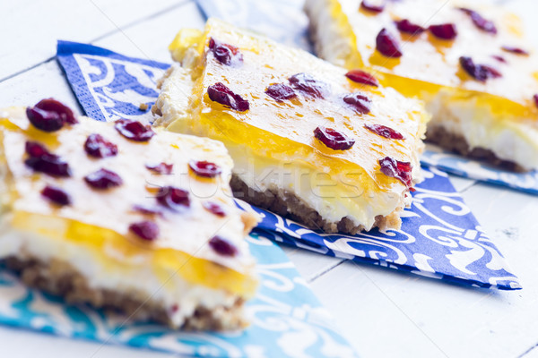 Ananas bars crème fromages guimauve remplissage Photo stock © LAMeeks