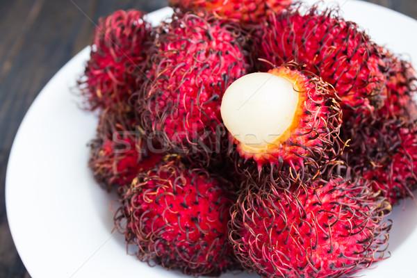 Tropical doce branco fruto Foto stock © LAMeeks