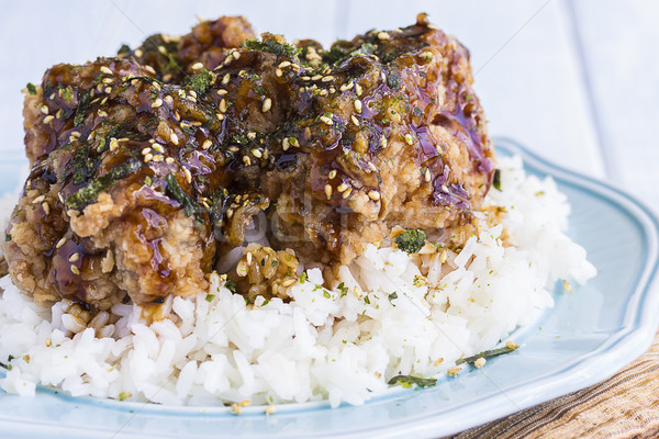 Garlic Furikake Chicken Stock photo © LAMeeks