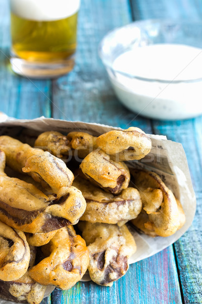 Portobello Fries Stock photo © LAMeeks