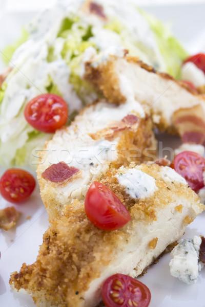 鶏 blt サラダ 氷山 レタス ウェッジ ストックフォト © LAMeeks