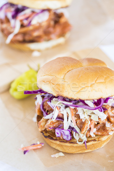 Stock photo: Hawaiian BBQ Chicken Sandwich