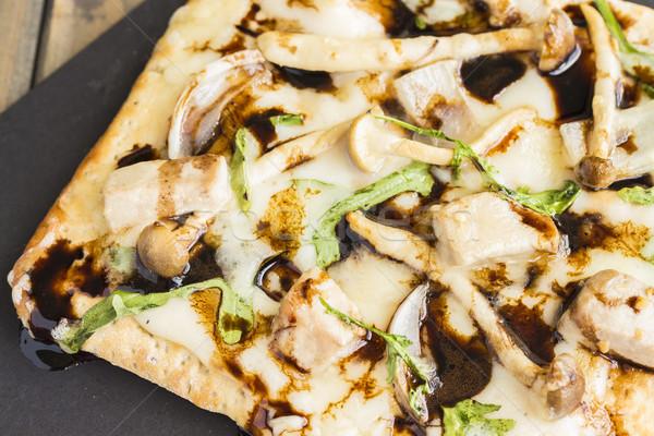 Smoked Ahi Pizza Stock photo © LAMeeks