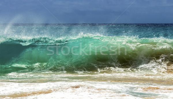 Sandy Beach Shorebreak Stock photo © LAMeeks