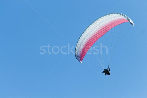 тандем ярко Blue Sky небе спорт Перейти Сток-фото © LAMeeks