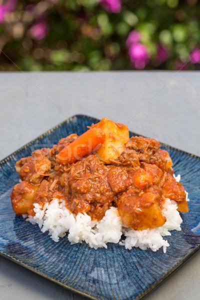 Hawaiian Beef Stew Stock photo © LAMeeks