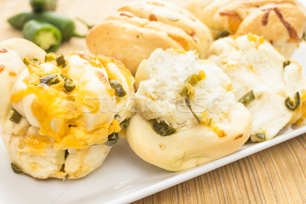 Jalapeno Cheese Bread Stock photo © LAMeeks