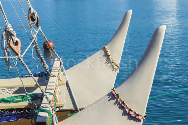 Bow of the Hokulea Stock photo © LAMeeks