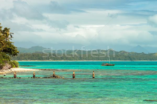 Waimanalo Catamaran Stock photo © LAMeeks