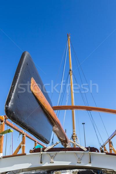 Steering Paddle and Mast Stock photo © LAMeeks