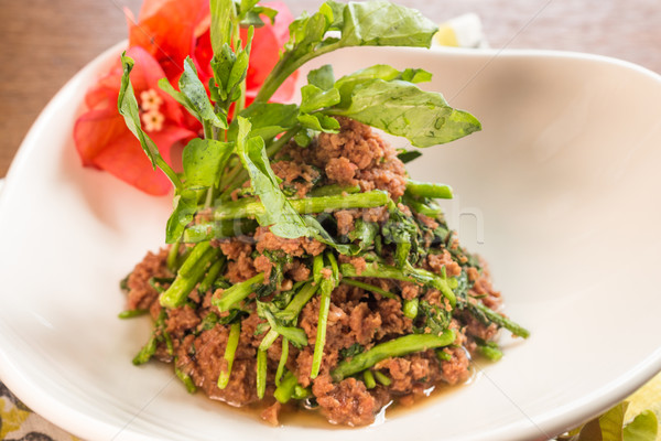 Corned Beef Watercress Stock photo © LAMeeks