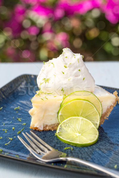 Key Lime Pie Stock photo © LAMeeks