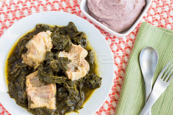 суп традиционный говядины хвост продовольствие Сток-фото © LAMeeks
