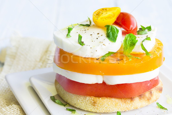 Caprese Stack Stock photo © LAMeeks