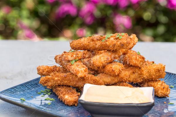 Hawaiian Spam Fries Stock photo © LAMeeks