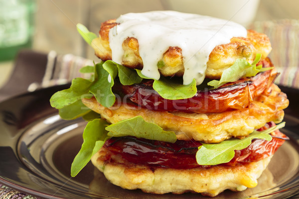 Corn Fritters Stock photo © LAMeeks
