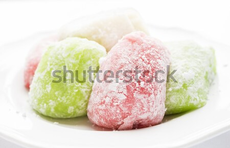 Assorted Daifuku Mochi Stock photo © LAMeeks