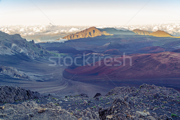 Haleakala Crater Stock photo © LAMeeks