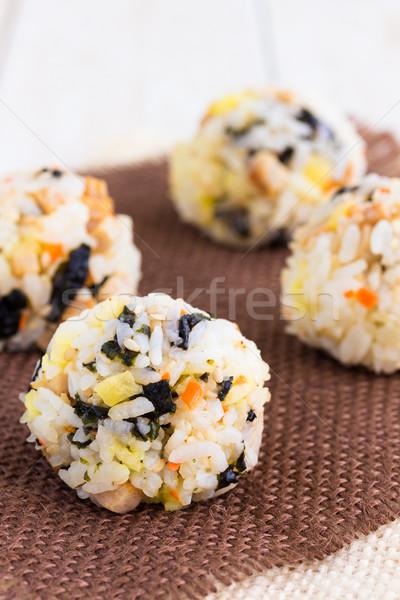 Musubi Balls Stock photo © LAMeeks