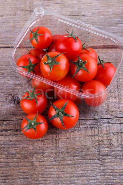 Tomato cherry in a box Stock photo © Lana_M