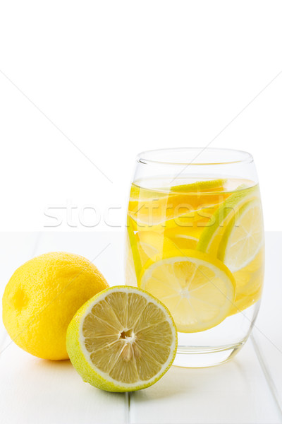 Water with lemon Stock photo © Lana_M