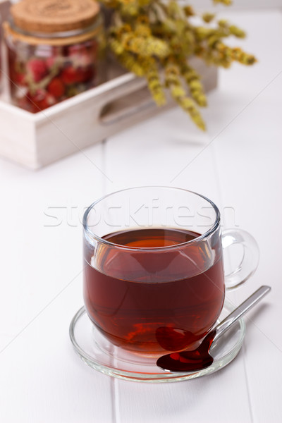 Cup of herbal tea Stock photo © Lana_M