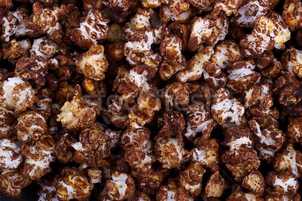 Sweet chocolate popcorn Stock photo © Lana_M