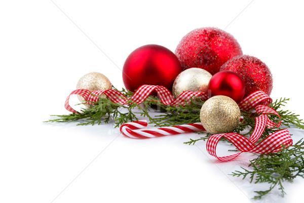 Рождества украшения украшение красный Сток-фото © Lana_M