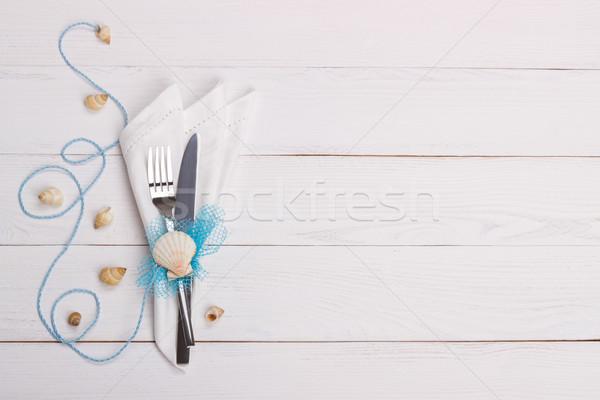 Summer table setting Stock photo © Lana_M
