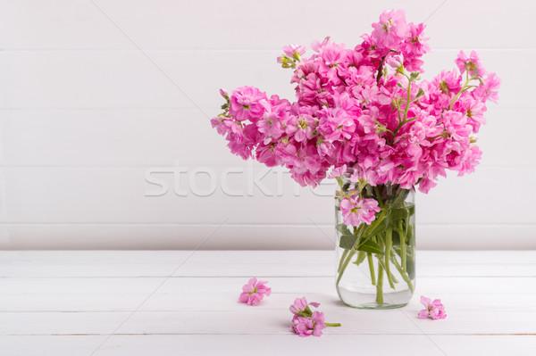 Ramo flores fragante rosa stock flor Foto stock © Lana_M