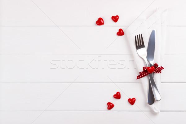Romantic table setting Stock photo © Lana_M