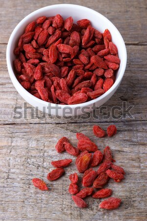 Goji berries in a bawl Stock photo © Lana_M