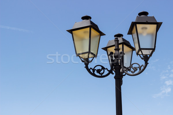Vintage street light Stock photo © Lana_M