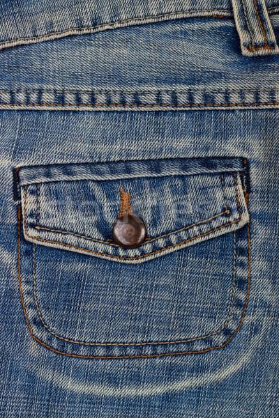 blue jean pocket Stock photo © Lana_M