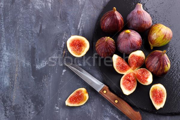 Ripe organic figs Stock photo © Lana_M