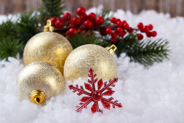 Christmas decorations concept Stock photo © Lana_M